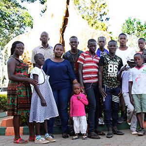 Bless the child foundation visit to UWEC courtesy of Speke Uganda Holidays