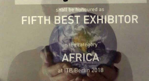 Uganda 5th best exhibitor at ITB 2018 in the Africa category