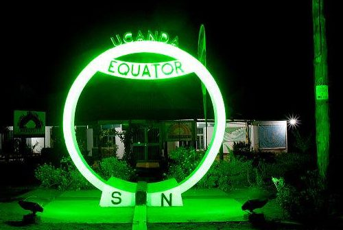 The Uganda Equator goes green for St. Patrick's Day