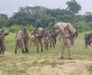 UWA Rangers and Wardens trained with 4 Rifles Regiment
