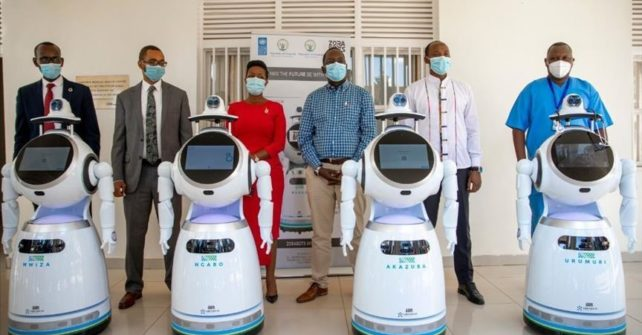 Robots boost Rwanda's fight against COVID-19